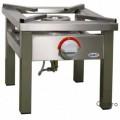 stolička plynová EGAZ 7 kW nerez