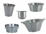 Katalog nádoby - kotlíky, mísy, vědra