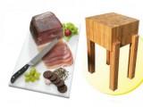 Katalog špalky na maso a krájecí desky